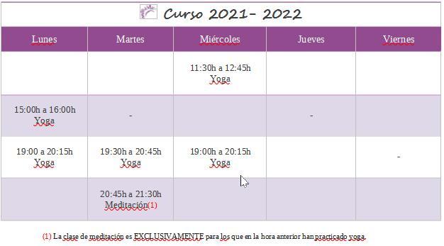 Curso 2021-2022